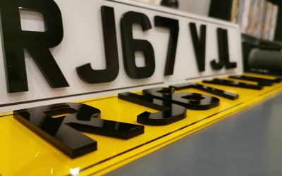 Are 4D Number Plates Legal?