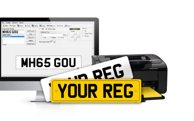 Information Required To Get Number Plates Made