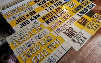 Number Plate Styles & Variations | Gel, 4D & Printed Number Plates